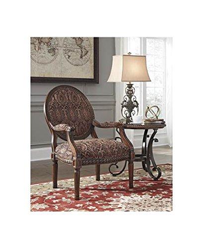 Accent Chair in Garnet