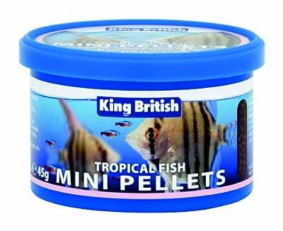 Beaphar King British Tropical Fish Mini Pellet 45 g