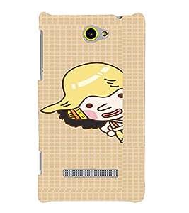 PRINTVISA Cartoon Case Cover for HTC 8S