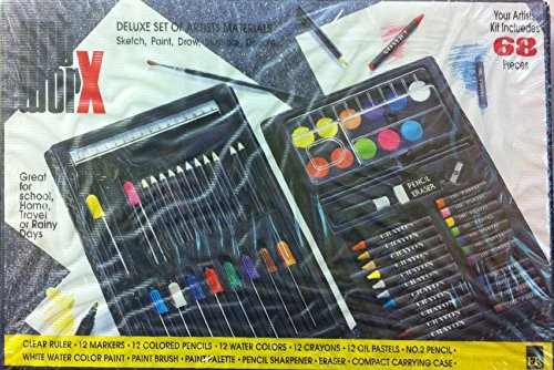Artworx 68; 68 Piece Drawing & Painting Set - 1