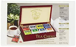 Bigelow Tea Chest, Variety Pack of Eight Flavors, Tea Bags, 64-Count Chest