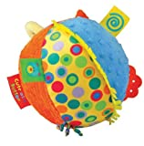 Kids Preferred Label Loveys Chime Ball, Cute as a Button Kids, Infant, Child, Baby Products