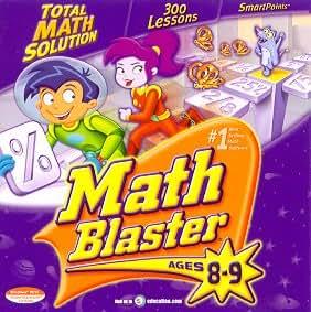 Math Blaster 8-9