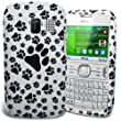 MOD NOKIA ASHA 302 FOOTPRINT PAWS PRINT LUXURY SOFT SILICONE GEL CASE COVER POUCH SKIN + FREE SCREEN PROTECTOR