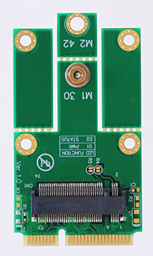 Bplus M2Mp1 : M.2 (Ngff) Key A To Mpcie (Pcie+Usb) Adapter