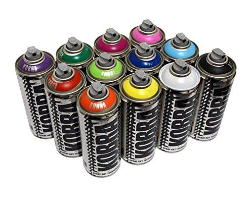 kobra-vernice-spray-12-x-barattoli-di-vernice-spray-400-ml-finitura-opaca-vernice-acrilica