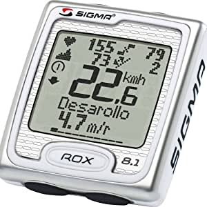 Sigma Rox 8.1 Compteur cycle Blanc