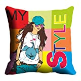 Lali Prints Style Digitally Printed Cushion Cover