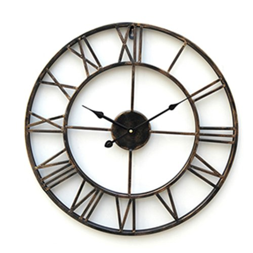 Lightinthebox 20 Country Style Metal Indoor Wall Clock Home Décor Clocks