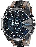 Diesel Men's DZ4305 Diesel Chief Series Analog Display Quartz Movement Brown Watch [並行輸入品]