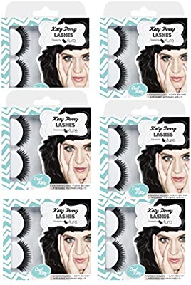 Katy Perry Lashes by Eylure-Cool Kitty, (Pack of 6)