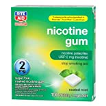 Rite Aid Stop Smoking Gum, 2 Mg Mint 100 Ea