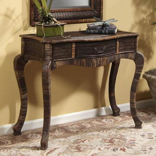 Cheap Bonny Console Table 31″hx39″wx18″d Medium Brown (B001FDD9DQ)