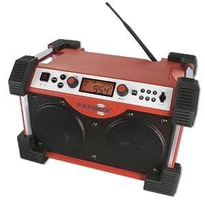 Sangean FB-100 Fatbox Rugged Industrial AM FM Radio by Sangean