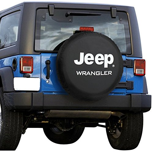 Spare Tire Cover, EVAPLUS PU Leather Waterproof Tire Cover for Jeep Wrangler-29.9''-31'' (R16) (Skull Jeep Spare Tire Cover compare prices)