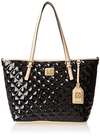 Amazon.com: Anne Klein Sweet Debut Tote,Black,One Size