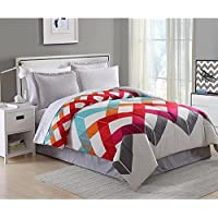 Essential Home 8 Pc. Complete Bed Set - Twin + $5.30 Kmart Credit