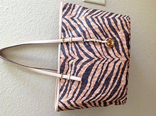 Michael Kors Brown Jet Set Tiger Handbag