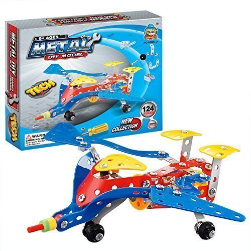 easy-gift-jet-aircraft-metal-brick-diy-model-construction-set-educational-toy-3d-laser-cut-stainless