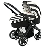 BabyStyle Oyster COLOUR PACK (CARRYCOT) in VOGUE Humbug