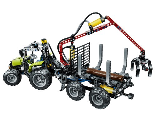 LEGO Technic 8049 Traktor mit Forstkran on PopScreen