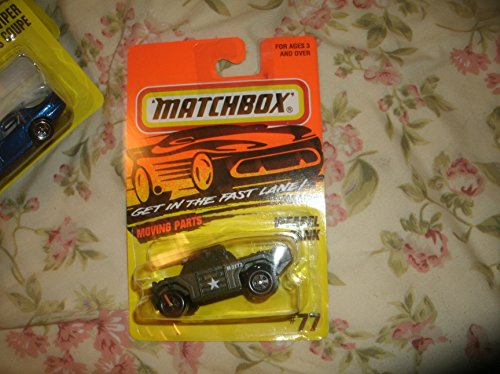 Weasel Tank - 1995 Matchbox Series #77 - 1