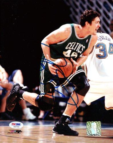 Raef LaFrentz Autographed 8x10 Photo Celtics PSA/DNA #S40742