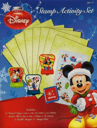 Disney Holiday Christmas Stamp Activity Set