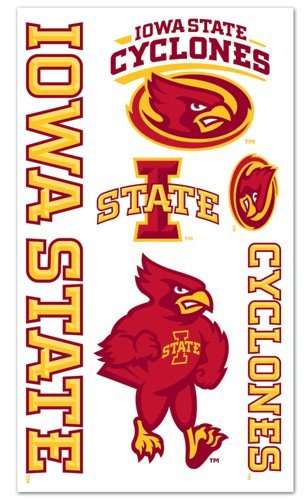 Iowa State Cyclones Temporary Tattoos