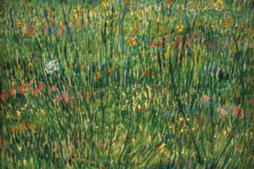Walls 360 Peel & Stick Wall Decals: Patch of Grass by Van Gogh (36 in x 24 in)