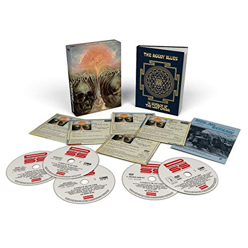 CD : The Moody Blues - In Search Of The Lost Chord (50th Anniversary) (With DVD, Boxed Set, Anniversary Edition)