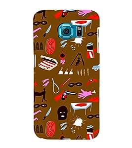 EPICCASE criminal Mobile Back Case Cover For Samsung Galaxy S6 Edge Plus (Designer Case)