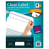 Save on Avery Index Maker Dividers