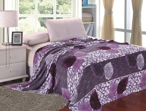 Purple Plush Blanket front-992212