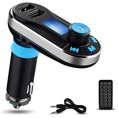 Reproductor de MP3 Bluetooth para el Coche Yokkao® Transmisor FM Mando a Distancia,...