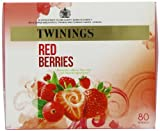 Twinings Fresh and Fruity Red Berries Tea Bags 160 g, 80 Tea Bags (pack of 4)
