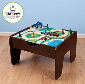Kidkraft 2-in-1 Activity Table Espresso by KidKraft