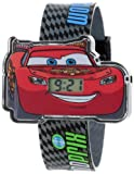 Disney Kids' CRS406 Cars Molded Iconic Head Watch