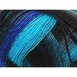 100 g Sockenwolle Jawoll Magic Degradé 4-fädig, Fb. 25