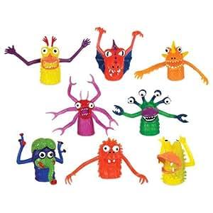Amazon.com: Finger Monsters (Set of 8 in each order): Toys