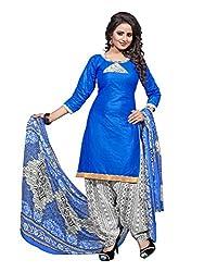 Sparsh Fashion unstitched patiala Suit