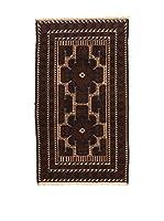 Kilim Carpets by Jalal Alfombra Afg Bel Zakini (Azul/Marrón)