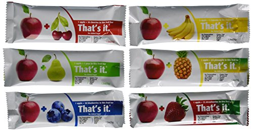 That's It Fruit Bars, Variety Pack , Pack of 24