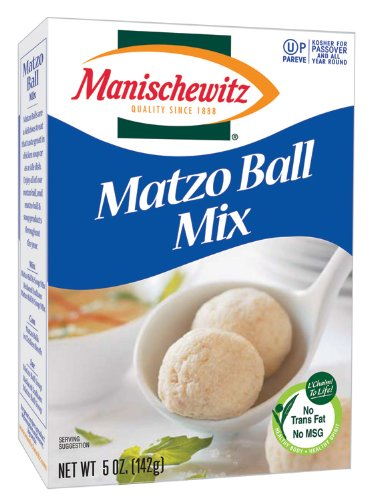 Manischewitz Matzo Ball Mix, 5-ounce boxes., (Pack of 3) (Matzo Ball Soup Mix compare prices)