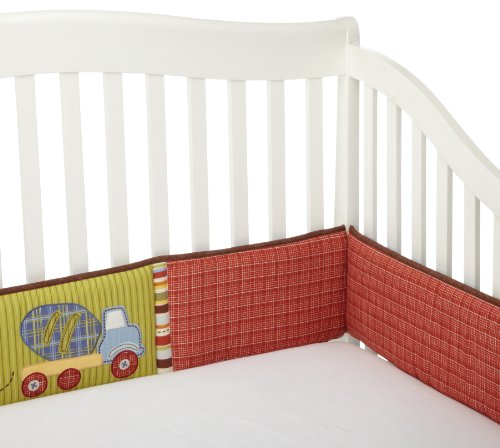 Coco & Company Road Work Crib Bumper back-62166