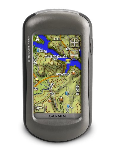 Garmin Oregon 450t Handheld GPS Navigator