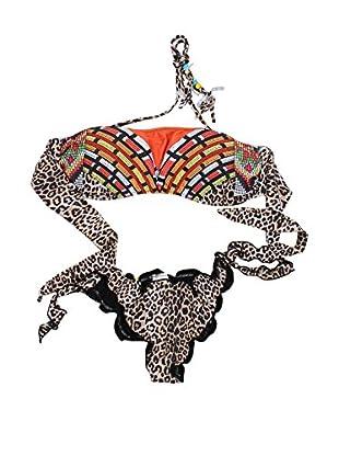 4giveness Bikini (Leopardo / Multicolor)