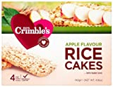 Mrs Crimbles Apple Rice Cake 140 g (Pack of 6)