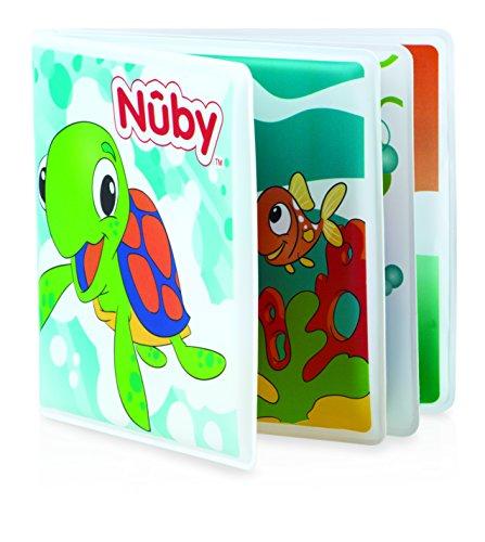 Nûby Le Bain de Bébé - Livre de bain sans vinyl +4 mois