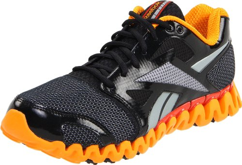 Reebok Men's Zignano Fly 2 Black/Silver/Orange Trainer J84497 10 UK, 44.5 EU, 11 US